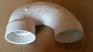 nos 4 Charlotte Sch40 Pvc Dwv Return Bend Pipe Fitting 03656 S6