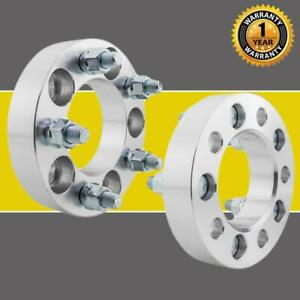 2pcs For Jeep Ford Wheel Spacers Adapters 5x4 5 1 25 1 2 X20 5 Lug