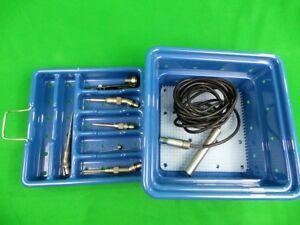 Stryker Core Saber Drill 5400 120 Neuro Spine Ent Orthopedic Surgery Set
