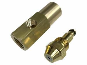 Delavan 30609 3 0 30 Gph Waste Oil siphon Nozzle With En17147 Brass Adapter
