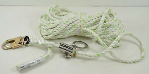 75 Foot 5 8 Inch Thick Rope W Snaphook End Construction Safety Lifeline