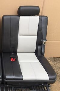 Third Row Seat Black Ebony Tahoe Yukon Escalade 07 14 Suburban Z71 Left Side