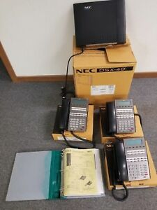 Nec Dsx 40 Phone System