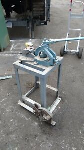 Pexto 455 Combination Bender shear notcher With Stand