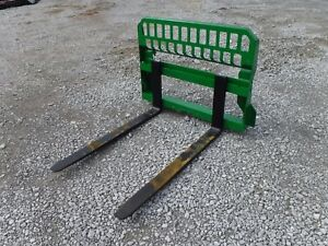 John Deere Tractor Attachment 48 Pallet Forks 200 300 400 500 Ship 199