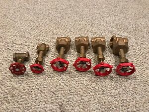 Lot Of 6 Never Used Milwaukee Gate Valve 1151 United 200 No Box