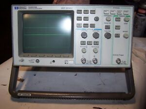 Hp Hewlett Packard 54603b Oscilloscope 60 Mhz