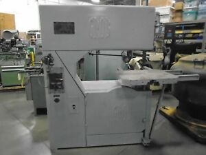 Grob Ns36 Vertical Metal Saw 36 X 12 Capacity