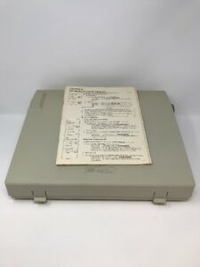 Smith Corona Electronic Typewriter 400 dld With Keyboard Cover