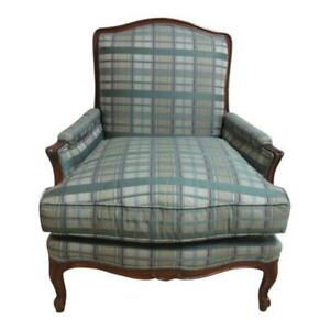Henredon Country French Schoonbeck Bergere Lounge Living Room Chair A