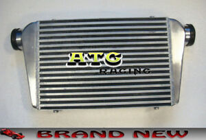 Fmic Universal Aluminum Intercooler For 450x300x70mm 3 In outlet 76mm Tube