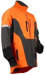 Husqvarna Hi Viz Technical Jacket Logger Arborist Protective Clothing Chainsaw