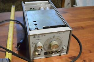 20 20000 Hz Vintage Soviet Low frequency Signal Generator G3 111