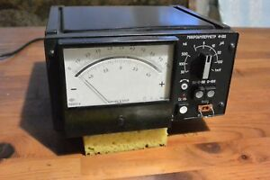 Vintage Ussr Analogue Multimeter Tester Laboratory Ammeter F 195 1986 Year