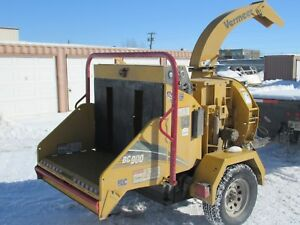 2015 Vermeer Bc900 Xl Wood Chipper New Demo Only 45 Hrs