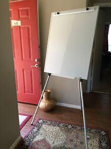 Immaculate Dry Erase Stand Easel Presentation Board Local Pick Up Ok