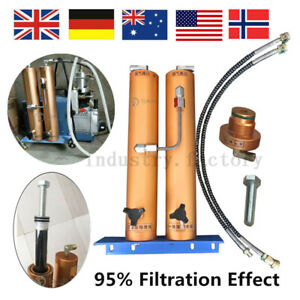 Pcp Compressor Oil water Separator Air Filter Filtration For 30mpa Air Pump