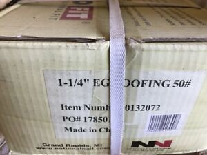 Grip rite 114egrfg 1 1 4 inch Electro galvanized Roofing Nail 50 Box 132072