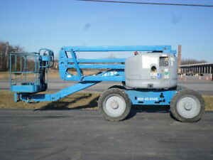 2006 Genie Z45 25 Articulating Boom Lift Manlift Z boom Aerial Knuckle Boomlift