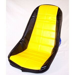 Low Back Seat Cover Yellow Fits Most Fiberglass Seats Dunebuggy Vw
