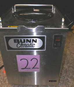 Bunn Omatic Coffee Pot Warmer