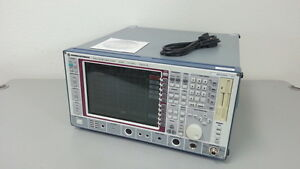 Rohde Schwarz Fsea20 Spectrum Analyzer 9 Khz 3 5 Ghz Options K10 k20