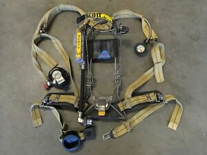 Scott 4 5 Wireframe Firefighter Scba Air Pack Respirator Harness 150