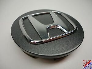 Genuine Factory Oem Honda Wheel Center Hub Cap Dark Metallic Gray 2 3 4 2 75