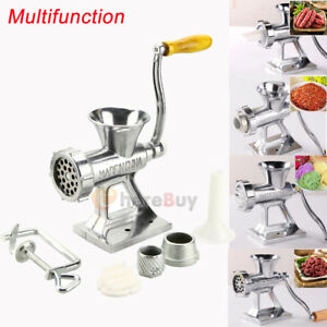 2800w 2 6 Hp Industrial Shop Electric Meat Grinder Meats Grind W 3 Blade Cutter