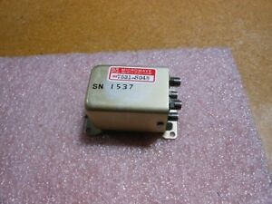 Microwave Cobham Advanced Rf Switch Ma7531 s048 Nsn 5985 01 122 1668