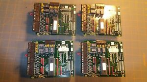 Four 4 Used Keri Systems Sb 293 Expansion Boards For Pxl250 Tiger Controller