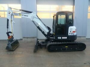 Excavator mini Bobcat Just 260 H Perfect 3 Spoons Included 2016
