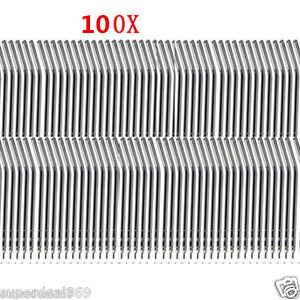 100 Pcs Nozzles Tips Spray For Dental Air Water Triple 3 way Syringe Brand New
