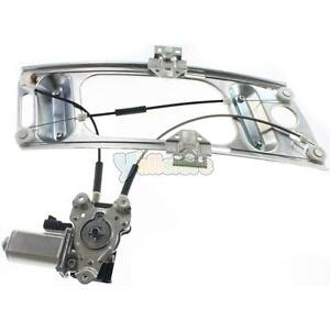 Front Driver Side Power Window Regulator With Motor For Chevy Monte Carlo 00 07