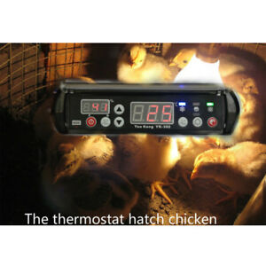 New Temperature Thermostat 220v Ac Digital Controller Hot Hygrostat Dispaly 12v