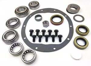 8 5 Chev 10 bolt Master Bearing Kit Rear 88 97 Truck With Axle Bearings Seals