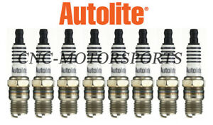 Ar133 Autolite Racing Spark Plugs 14 Mm Thread 0 460 In Reach Tapered Seat 8 Pak