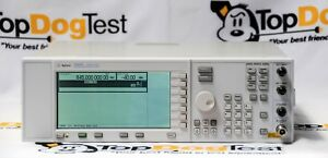 Hp Agilent Keysight E4428c 503 Esg Analog Signal Generator 250khz To 3ghz
