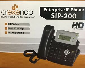 Crexendo Sip 200p Enterprise Ip Internet Phone