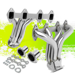 For 57 72 Ford F100 V8 Bbs Fe Engine Racing Mid length Exhaust Header Manifold