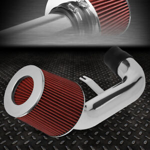 For 02 06 Acura Rsx 2 0l Lightweight Short Ram Air Intake System red Cone Filter