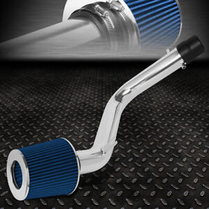 For 98 02 Honda Accord V6 Lightweight Cold Air Intake System Blue Cone Filter