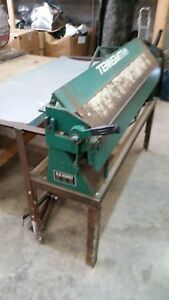 Tennsmith 48 Box And Pan Brake U 4822 With Stand Used Excellent Condition