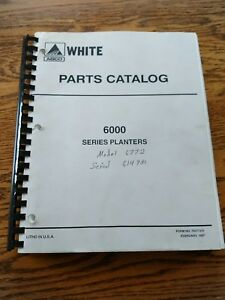 White 6000 Series Planters Parts Catalog Issued 1997