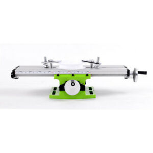 Bench New Table Set Cross Drill Compound Vise Alloy Slide Milling Fixture Press