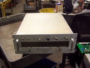 Microwave Power Devices Lab3 1075 75k Solid State Amplifier 100 500 Mhz