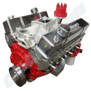 Sb Chevy 427 580 Horsepower Pump Gas Street Strip Crate Engine Afr Heads Roller
