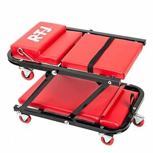 New Rtj 47 Inch N Creeper Seat With Adjustable Headrest Red Free Shipping