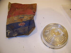 1954 Plymouth Park Lens W Ring 1594395 Nos Plyax