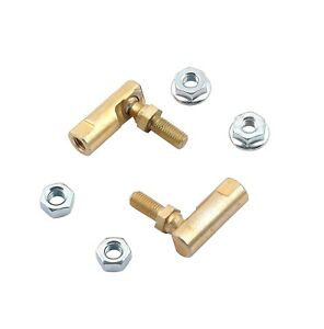 Mr Gasket Throttle Lever Studs Cable Ends Ball Joints 1 4 Stud Universal Pair